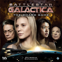 Battlestar Galactica: The Board Game - Daybreak Expansion (Board Game) - Cover