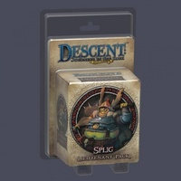 Descent: Journeys in the Dark (Second Edition) - Splig Lieutenant Pack (Board Game) - Cover