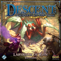 Descent: Journeys in the Dark (Second Edition) - Expansion: Labyrinth of Ruin (Board Game) - Cover