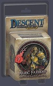 Descent: Journeys in the Dark (Second Edition) - Alric Farrow Lieutenant Pack (Board Game) - Cover