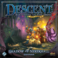 Descent: Journeys in the Dark (Second Edition) - Expansion: Shadow of Nerekhall (Board Game) - Cover