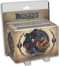Descent: Journeys in the Dark (Second Edition) - Raythen Lieutenant Pack (Board Game) - Cover