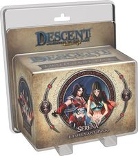 Descent: Journeys in the Dark (Second Edition) - Serena Lieutenant Pack (Board Game) - Cover