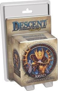 Descent: Journeys in the Dark (Second Edition) - Ariad Lieutenant Pack (Board Game) - Cover