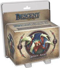 Descent: Journeys in the Dark (Second Edition) - Queen Ariad Lieutenant Pack (Board Game) - Cover
