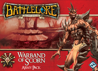 Battlelore: Warband of Scorn Army Pack - Cover