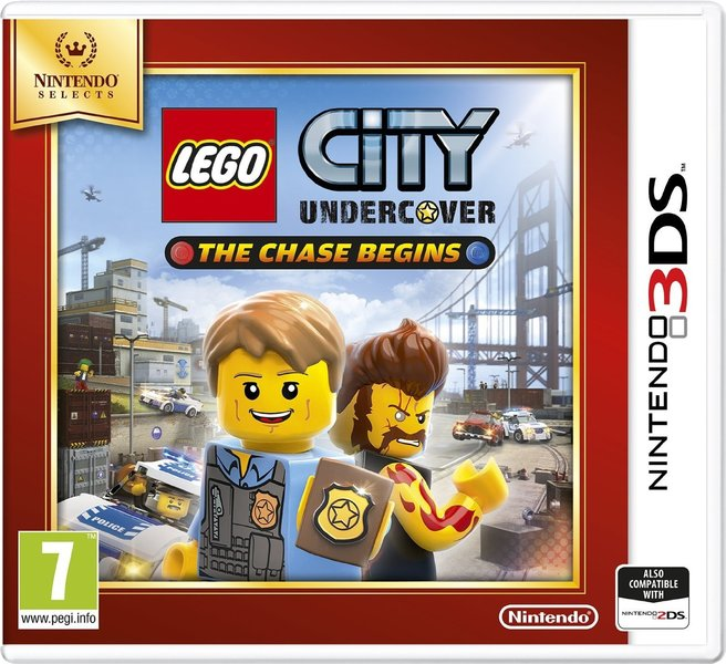 LEGO City: Undercover - The Chase Begins (3DS) - Video Games Online ...