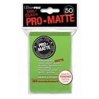 Ultra Pro - Standard Sleeves - Pro-Matte - Non Glare - Lime Green (50 Sleeves)