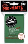 Ultra Pro - Small Sleeves - Pro-Matte - Green (60 Sleeves)