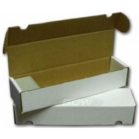 Cardbox / Fold-Out Box For Storage of 1000 Cards - Cover