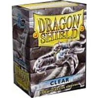 Dragon Shield - Standard Sleeves - Clear (100 Sleeves) - Cover