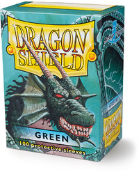 Dragon Shield - Standard Sleeves - Green (100 Sleeves) - Cover