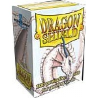 Dragon Shield - Standard Sleeves - White (100 Sleeves) - Cover