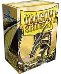Dragon Shield - Standard Sleeves - Gold (100 Sleeves) - Cover