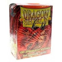 Dragon Shield - Standard Sleeves - Red (100 Sleeves) - Cover