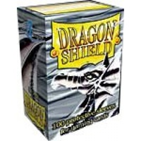 Dragon Shield - Standard Sleeves - Silver (100 Sleeves) - Cover