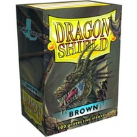 Dragon Shield - Standard Sleeves - Brown (100 Sleeves) - Cover