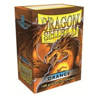 Dragon Shield - Standard Sleeves - Orange (100 Sleeves) - Cover