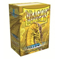 Dragon Shield - Standard Sleeves - Yellow (100 Sleeves) - Cover
