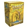 Dragon Shield - Standard Sleeves - Yellow (100 Sleeves)