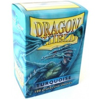 Dragon Shield - Standard Sleeves - Turquoise (100 Sleeves) - Cover