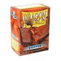 Dragon Shield - Standard Sleeves - Copper (100 Sleeves) - Cover