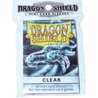 Dragon Shield - Small Sleeves - Clear (50 Sleeves) - Cover