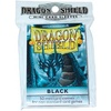 Dragon Shield - Small Sleeves - Black (50 Sleeves)