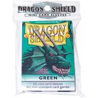 Dragon Shield - Small Sleeves - Green (50 Sleeves)