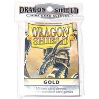 Dragon Shield - Small Sleeves - Gold (50 Sleeves) - Cover