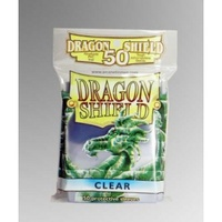 Dragon Shield - Standard Sleeves - Clear (50 Sleeves) - Cover