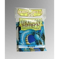 Dragon Shield - Standard Sleeves - Blue (50 Sleeves) - Cover