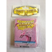 Dragon Shield - Standard Sleeves - Pink (50 Sleeves) - Cover