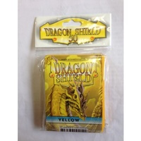 Dragon Shield - Standard Sleeves - Yellow (50 Sleeves) - Cover