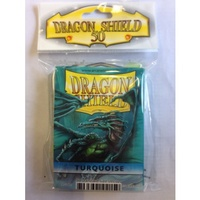 Dragon Shield - Standard Sleeves - Turquoise (50 Sleeves) - Cover