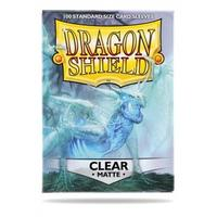 Dragon Shield - Standard Sleeves - Matte Clear (100 Sleeves)