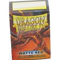 Dragon Shield - Standard Sleeves - Matte Red (100 Sleeves)