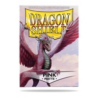 Dragon Shield - Standard Sleeves - Matte Pink (100 Sleeves) - Cover