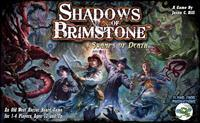 Shadows of Brimstone - Swamps of Death (Board Game) - Cover
