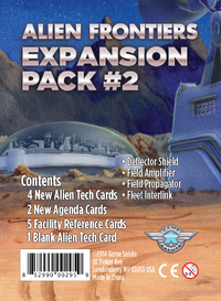 Alien Frontiers - Expansion Pack 2 (Board Game) - Cover