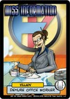 Sentinels of the Multiverse - Miss Information Villain Character Expansion (Card Game)