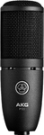 AKG P120 High-Performance General Purpose Recording Microphone (Black)