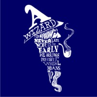 A Wizard Is Never Late Womens Hoodie Navy (Large) - Cover