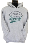 You Are What You Eat Mens Hoodie Grey (Medium)