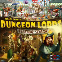 Dungeon Lords - Festival Season Expansion (Board Game) - Cover