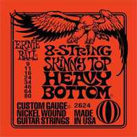 Ernie Ball 2624 9-80 Skinny Top Heavy Botttoms 8 String Electric Guitar Strings - Cover