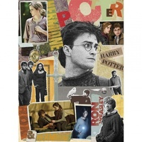 Harry Potter Scrapbook Jigsaw Puzzle (1000 Pieces) 51x69cm - Cover