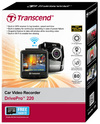 Transcend DrivePro 220 Car Video Recorder (Includes Suction Mount and Free 16GB microSD Card)
