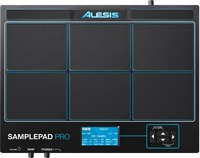 Alesis SamplePad Pro Electronic 8 Pad Percussion and Sample-Triggering Instrument (Black)