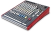 Allen & Heath ZED-12FX ZED Series 12 Channel USB Mixer for Live and Studio Recording with Effects (Blue)